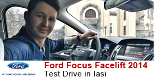 Ford Focus 2014 test drive